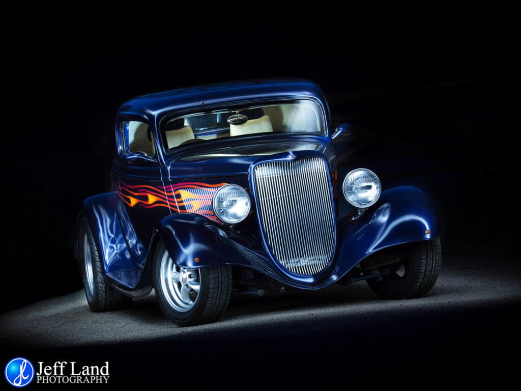 Custom Car, Professional, Photographer, Stratford upon Avon, Warwickshire, Light Painting
