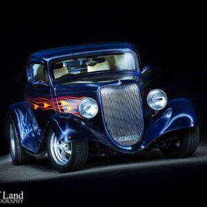 Custom Car, Professional, Photographer, Stratford upon Avon, Warwickshire, Light Painting